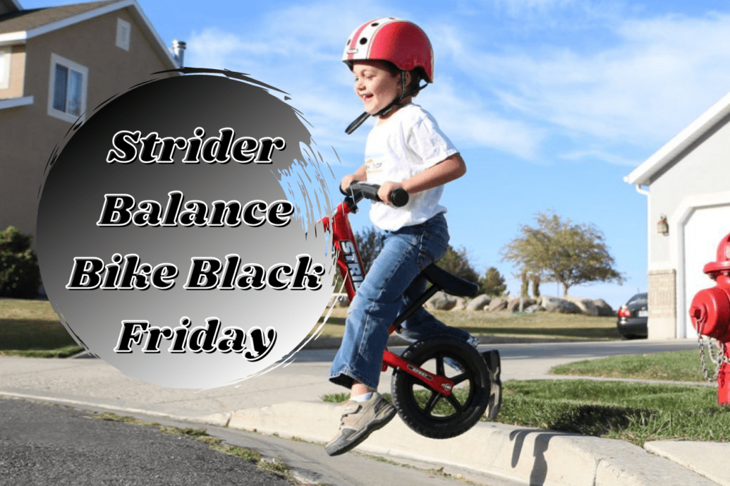 Strider Balance Bike Black Friday