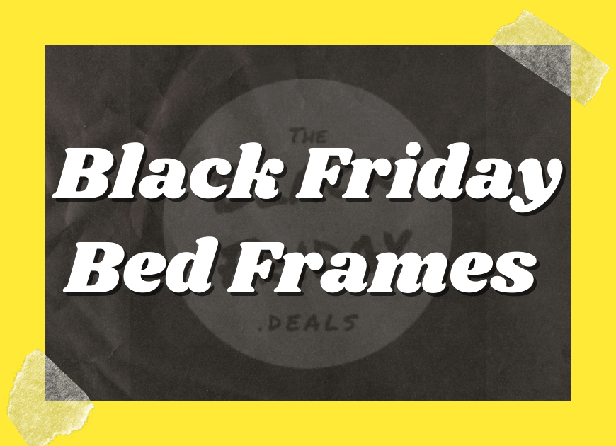 Black Friday Bed Frames