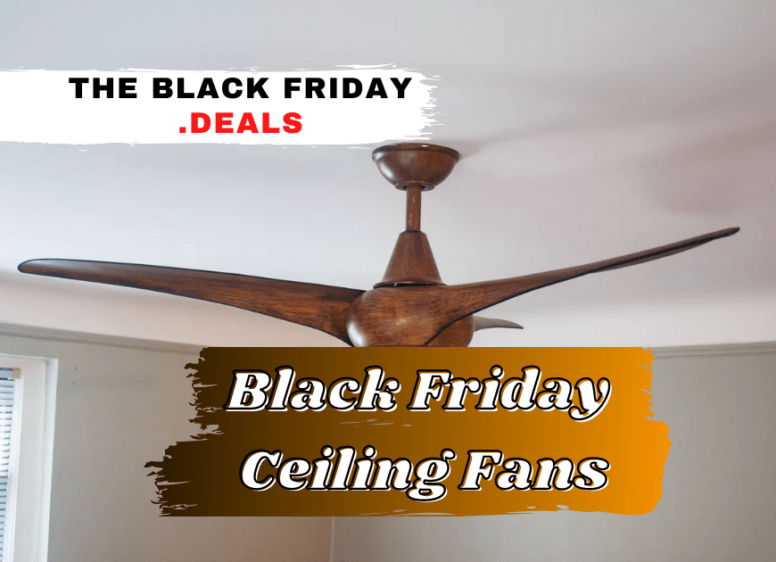 Best Black Friday Ceiling Fans Without Lights Deals