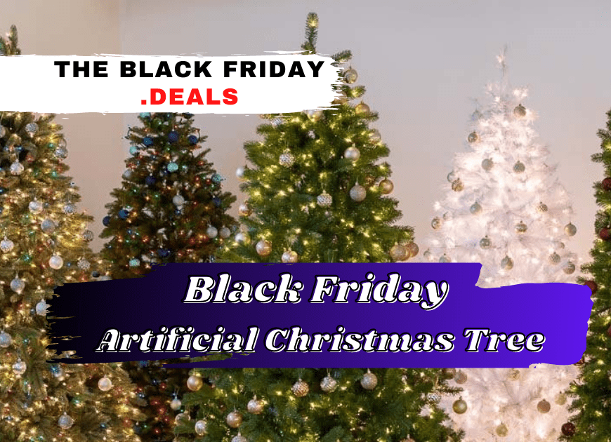 Black Friday Artificial Christmas Tree Deals