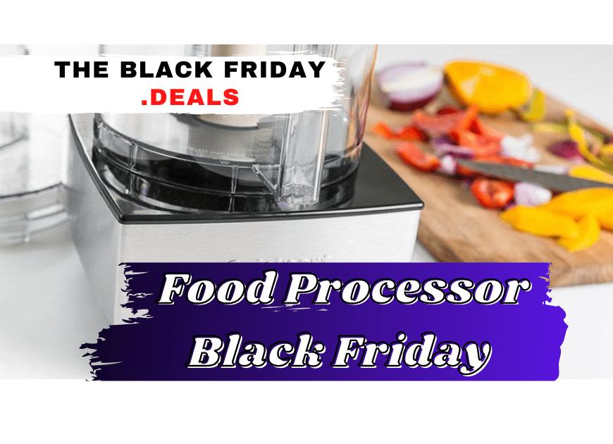 Best Black Friday Food Processor Deals