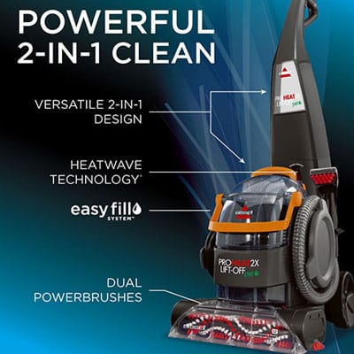 Bissell Proheat 2x Lift Off Pet