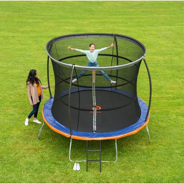 Black Friday Trampoline With Enclosure