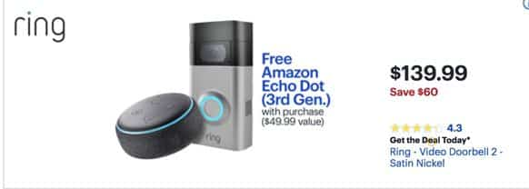 Black Friday Ring Video Door Bell Bestbuy