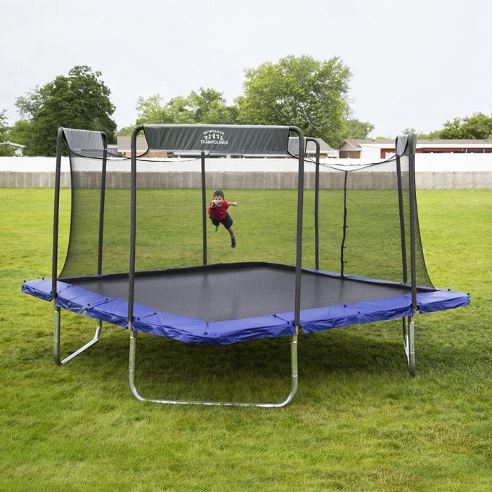 Black Friday Skywalker Trampolines 16 Ft Square Premium Trampoline With Enclosure