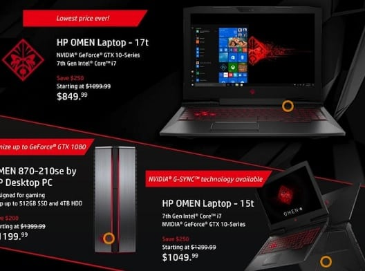 Hp Gaming Laptop Black Friday