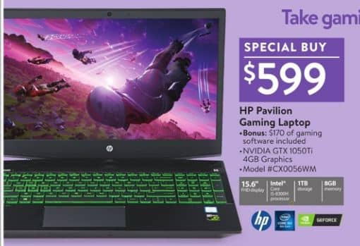 Hp Pavilion Gaming Laptop Walmart Black Friday