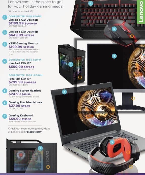 Lenovo Gaming Laptop Black Friday
