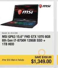 Msi New Egg Black Friday