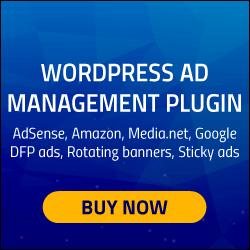 Black Friday Ad Inserter Pro WordPress Adsense Plugin