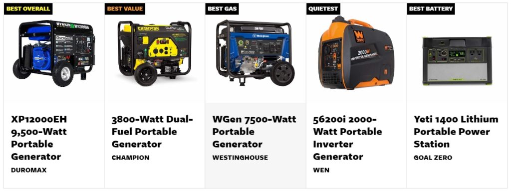 Black Friday Best Generator Deals