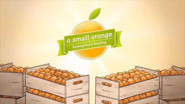 A Small Orange Black Friday