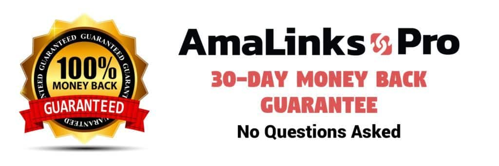 Black Friday Amalink Pro Affiliate Plugin For Amazon Niche Site On WordPress 30 Day Money Back Guarante