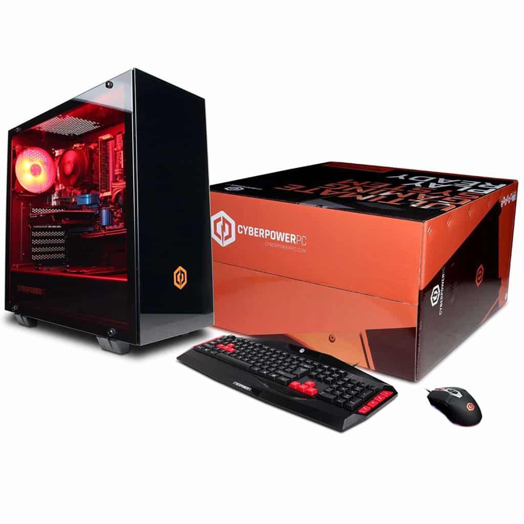 Black Friday Cyberpowerpc Gaming Ultra Gua883 Desktop Gaming Pc