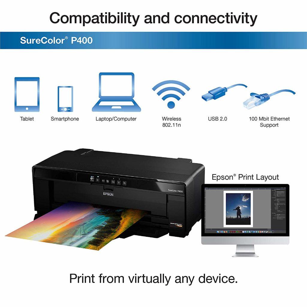 Black Friday Epson Surecolor P400 Inkjet Printer