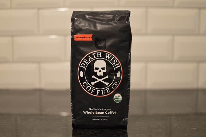 Black Friday Whole Bean Death Wish Coffee