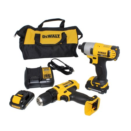 Dewalt Black Friday Dewalt Dck211s2 12v Max Cordless Drilldriver And Impact Driver Combo Kit