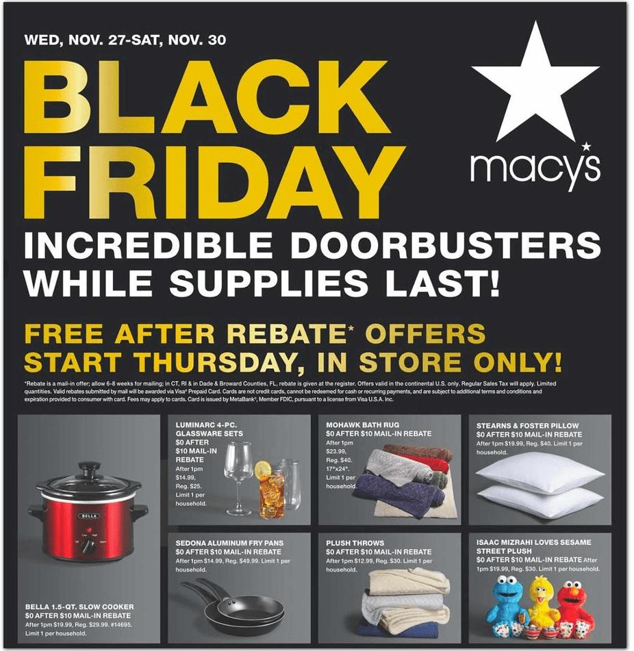 Macy's Black Friday Deals