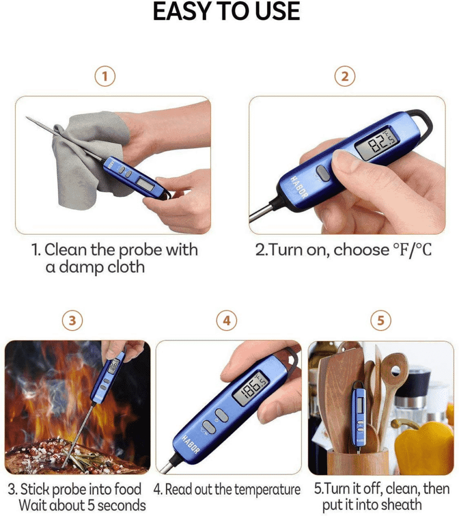 Meat Thermometer Black Friday How To Use Meat Thermometer