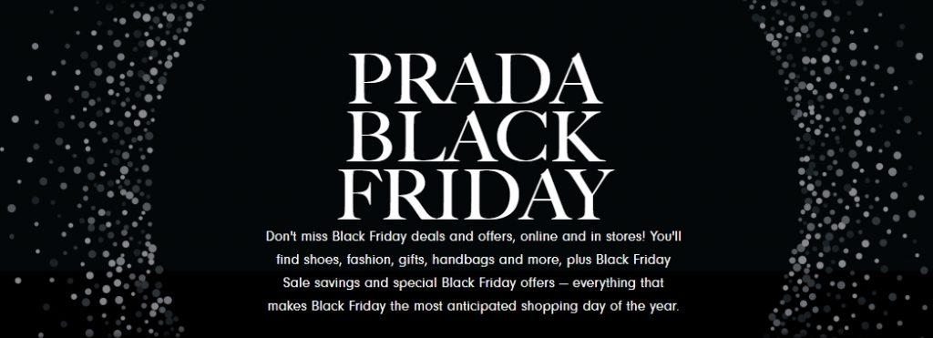 Prada Black Friday