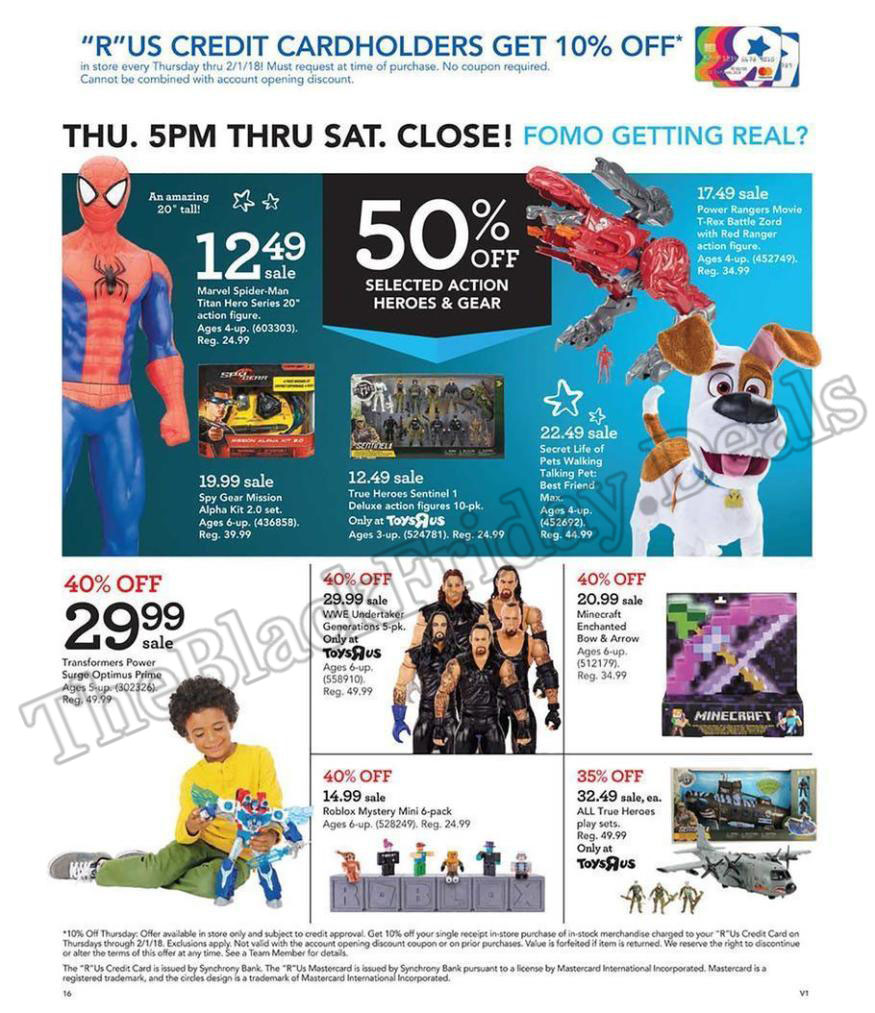 Toys R Us Black Friday 2020 Deals, Sales & Ads (11)