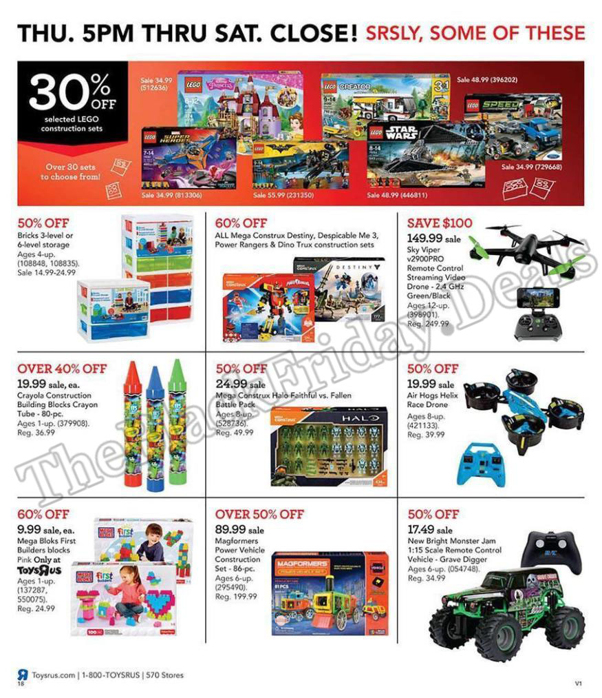 Toys R Us Black Friday 2020 Deals, Sales & Ads (14)