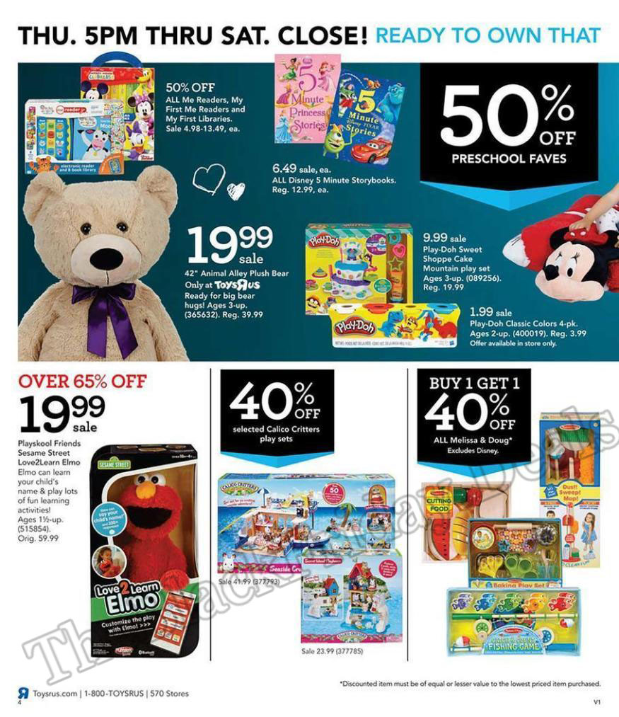 Toys R Us Black Friday Flyer Ads Page 4