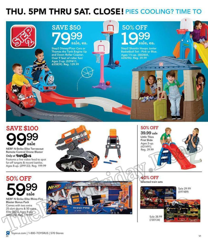Toys R Us Black Friday Flyer Ads