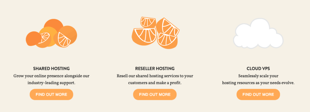 Asmall Orange Hosting