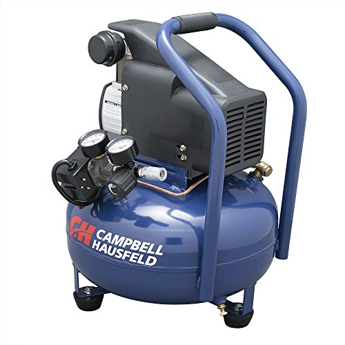 The Best Quiet Campbell Hausfeld Dc060500 Black Friday Deals 2020 - Campbell Hausfeld Air Compressor, Electric 6 Gallon Pancake Oilless 2.5cfm 0.8hp 120v 7a 1ph (hm750000av)