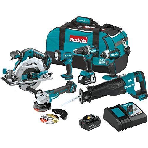 Black Friday Makita Brushless Combo Kit Deals, Sales, ADs -Makita Xt612m 18v Lxt Lithium Ion Brushless Cordless 6 Pc. Combo Kit (4.0ah)