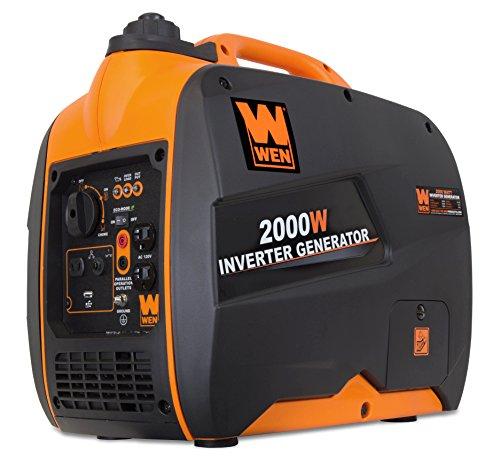 Inverter Generator Black Friday - Wen 56200i Super Quiet 2000 Watt Portable Inverter Generator, Carb Compliant