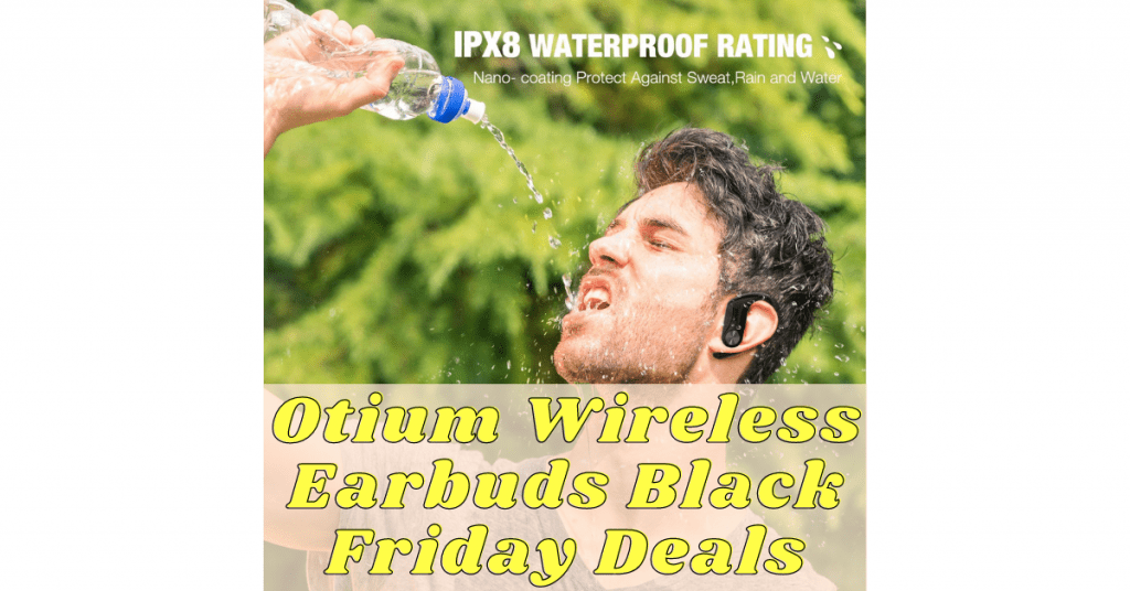 Otium Wireless Earbuds Black Friday Deals (1)