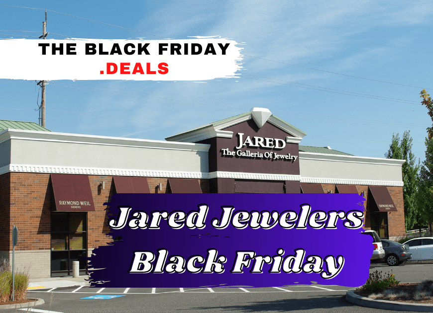 Best Jared Jewelers Black Friday