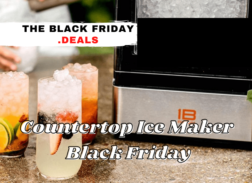 Countertop Ice Maker Black Friday