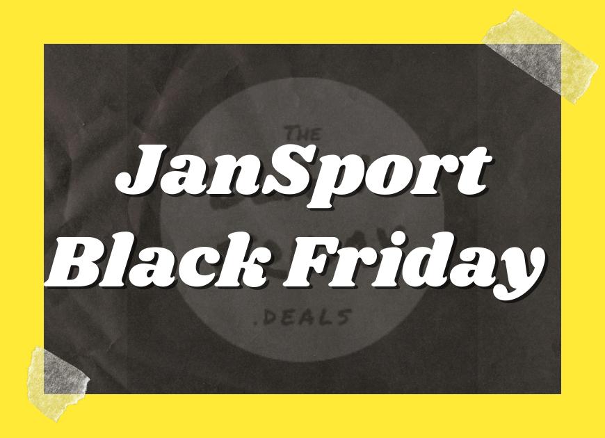 Jansport Black Friday Deals