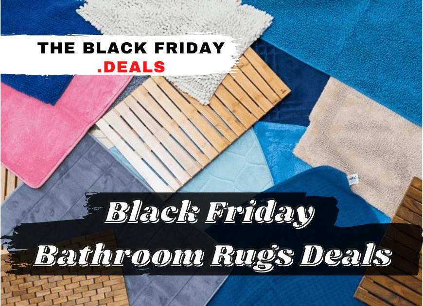 Black Friday Bath Rugs Deals 1