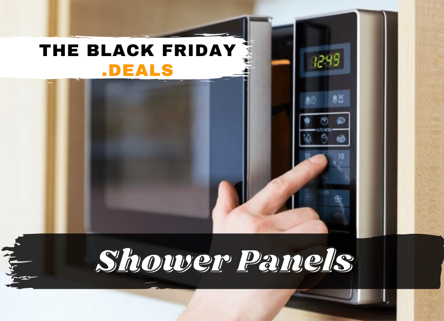 Black Friday Shower Panels