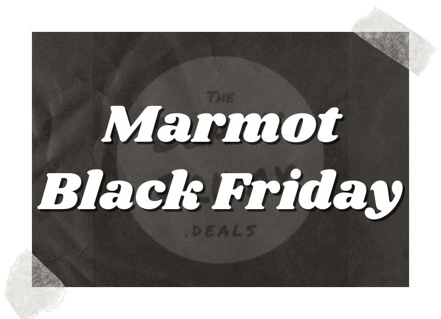Marmot Black Friday