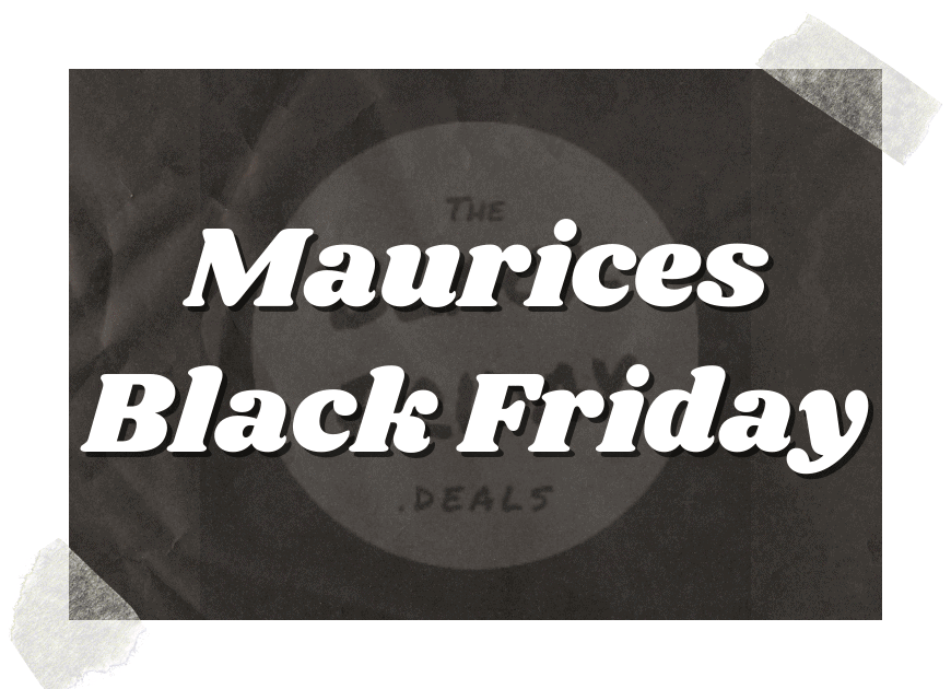 Maurices Black Friday