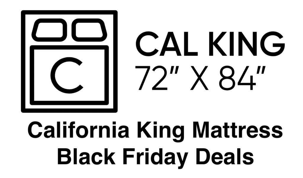California King Mattress Black Friday Deals